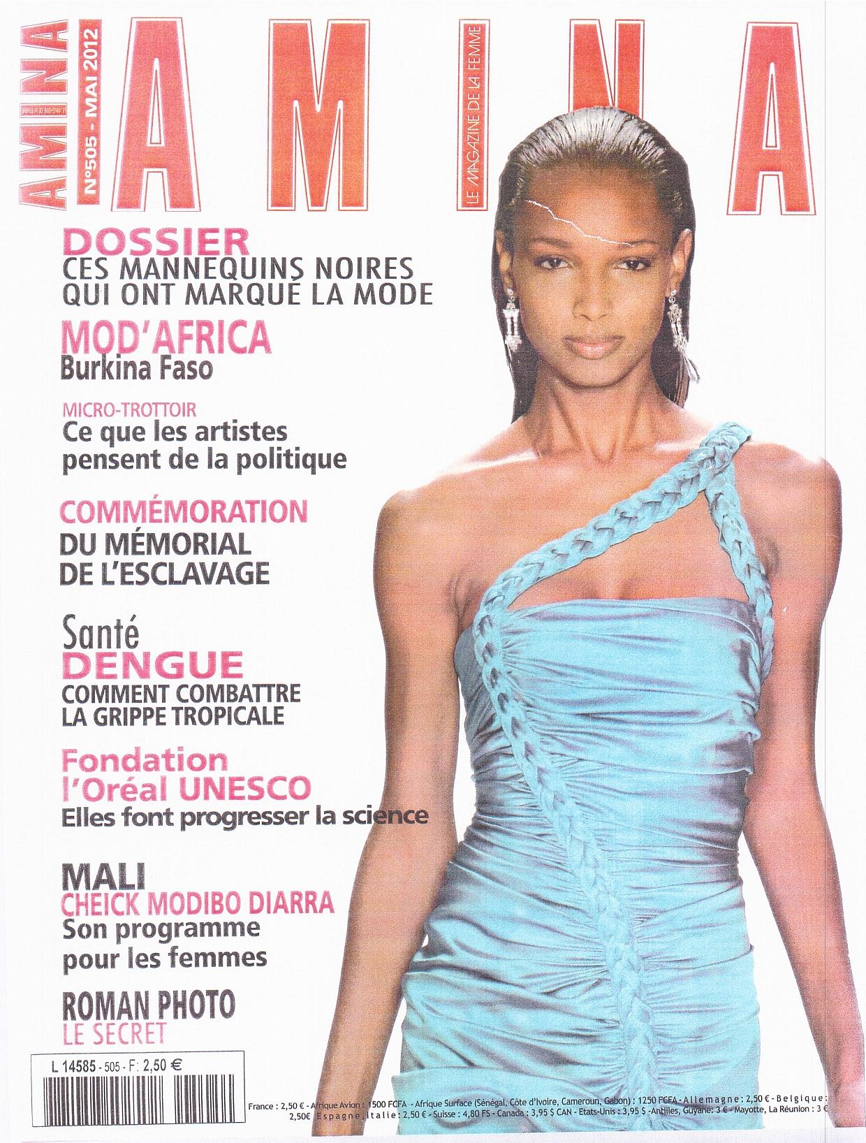 Fam dans le magazine amina femmes au del des mers for Eminza magasin